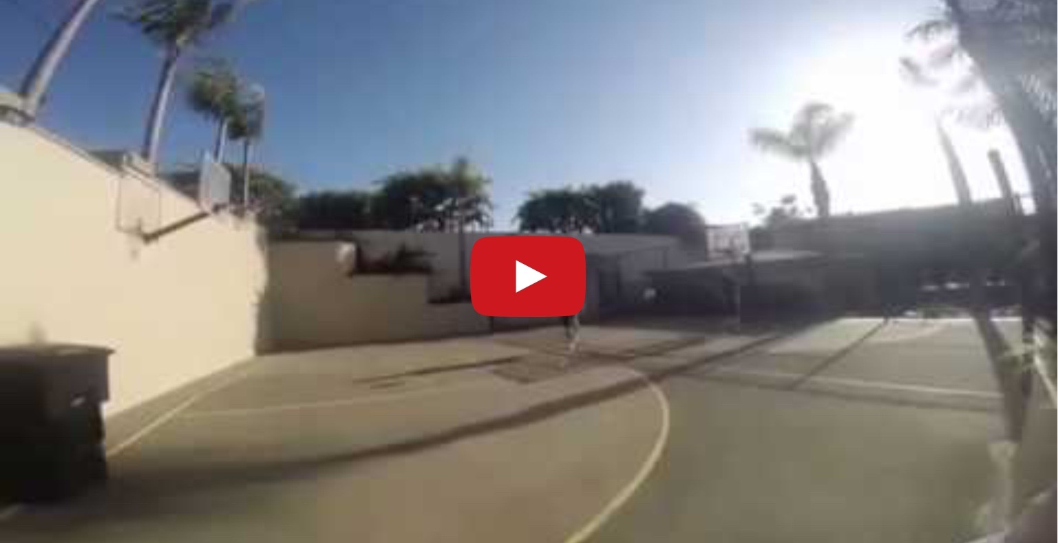 Is Bale better at Basketball with his feet, than you with your hands?