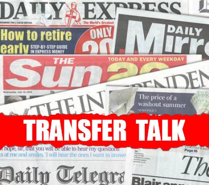 Here's the top transfer-related stories in Sunday's newspapers…