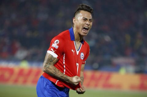 Vargas screamer sends Chile to the final