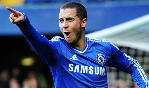 Is hazard hinting at a move to Spanish giants next year?