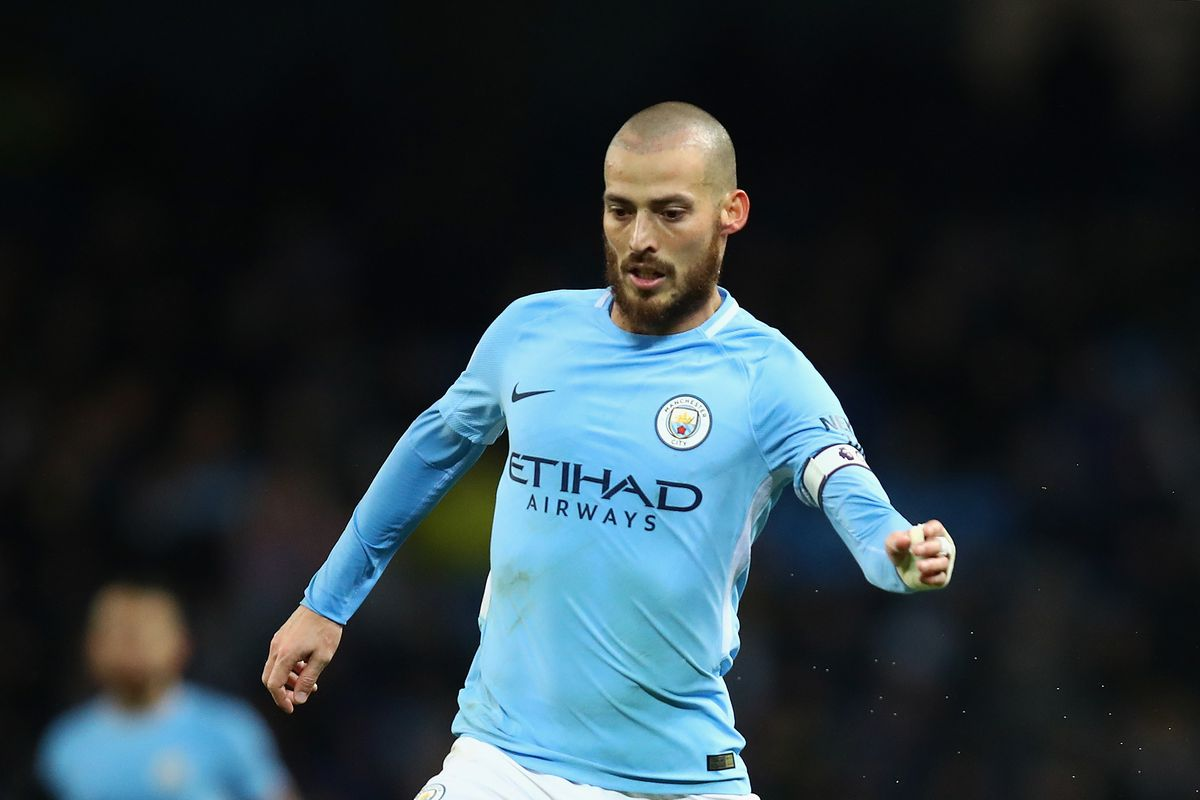 David Silva Introduced Son Mateo To Man City Crowd Following His Brave Fight For Life