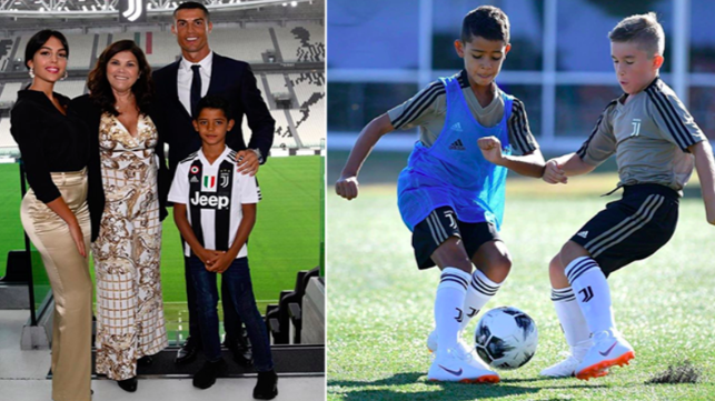 Cristiano Ronaldo's Son Joins Juventus Youth Academy