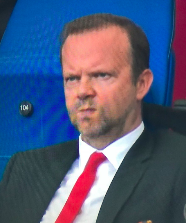 Ed Woodward's Face During Manchester United Defeat Says It All.